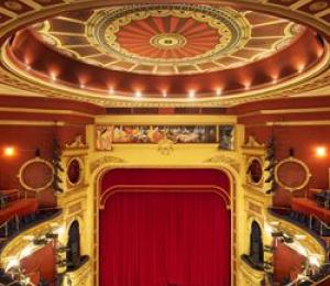 An inside view of His Majesty's Theatre in Perth